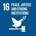 16. Peace, Justice and Strong Institutions
