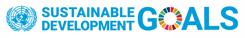 Image of UN logo and text of sustainable development goals.